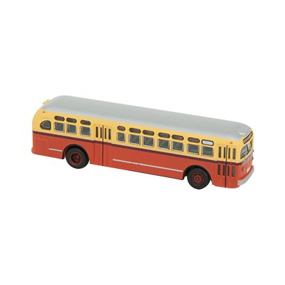 WB002 [Nスケール ワールドバスコレクション GMC TDH4512(橙色)<WB002>]