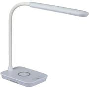 ODS-LDQ338K-W [LEDデスクライト ワイヤレス充電機能+USB充電機能 ホワイト]