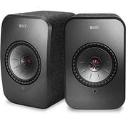 SP3994BX KEF LSX [アンプ内蔵アクティブスピーカー(30W+70W)×2  Bluetooth/Wi-Fi/AirPlay2対応 ブラック]