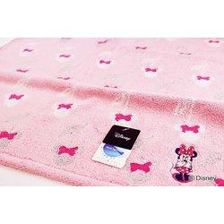 38-1033380P [Disney オノマトペ+2 60cm×120cm ピンク バスタオル]