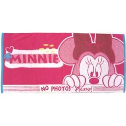 38-1053350P [Disney ひょっこり+4 60cm×120cm ピンク バスタオル]