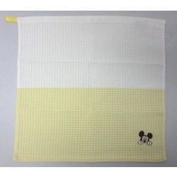 38-1031081Y [Disney オノマトペ+4 34cm×35cm イエロー キッチンタオル]