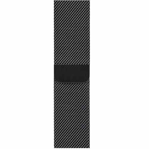 RM-3378WATCH40BK [アップルウォッチ対応ステンレス製交換ベルト ブラック 38-40mm]