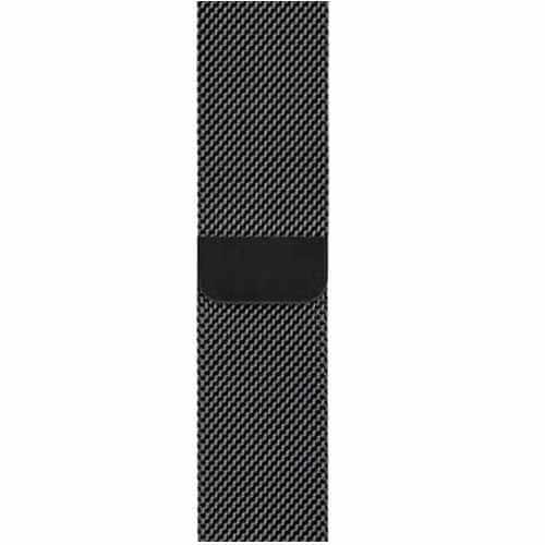 RM-3378WATCH44BK [アップルウォッチ対応ステンレス製交換ベルト ブラック 42-44mm]