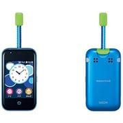 KYF40 mamorino 5 ブルー [携帯電話]