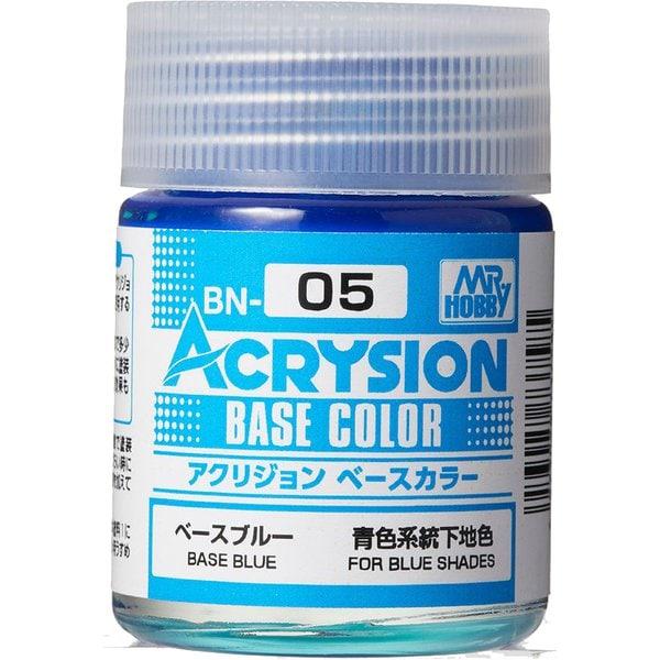 BN05 [アクリジョン ベースカラーシリーズ No.5 ベースブルー 18ml]