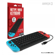 """NuType"" Wired Keyboard for Switch ""ニュータイプ""キーボード Nintendo Switch/PS4/PC専用"