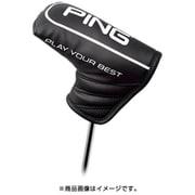 PING 19SS 34542-02 HC-P191 ソフトPUヘッドカバーブレードパターカバー ブラック