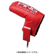 PING 19SS 34543-04 HC-P192 FIDLOCKブレードパターカバー レッド