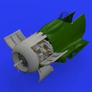 EDU648461 Fw190A-8 エンジン (エデュアルド用) [1/48 ブラッシン:レジンパーツ]