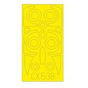 EDUCX538 ファントム FGR.2 塗装マスクシール (エアフィックス用) [1/72 樹脂製塗装用マスキングシート]