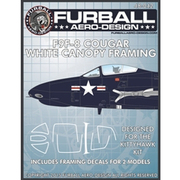 FAD48-042 F9F-8 クーガー用キャノピーマスクシート [1/48 エアクラフト用デカール]