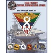 FAD72-007 アメリカ海軍 F-18C/E/F EA-18G CVW-8 デカール [1/72 エアクラフト用デカール]