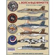 FAD32-004 アメリカ海軍 レガシーホーネット バンディット(F/A-18A/B/Cホーネット)デカール [1/32 エアクラフト用デカール]