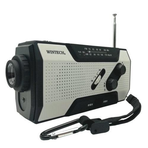KDR-201WP [防滴手回し充電ラジオライト]