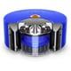RB02BN [Dyson 360 Heurist ロボット掃除機 ニッケル/ブルー]