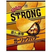 ポテトチップスSTRONG ガーリックバター 56g