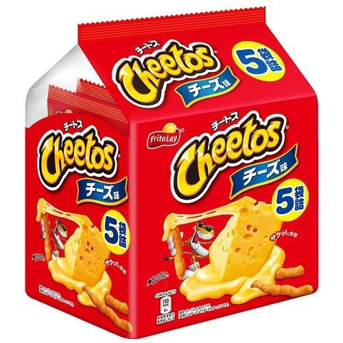 チートス チーズ味 5パック 120g