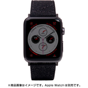AppleWatch42/44バンド Wax Canvas BK