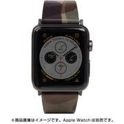 AppleWatch42/44バンド Camo Leather KH