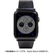 AppleWatch42/44バンド Camo Leather BK