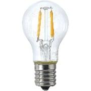 LDF2LC25WE17TM [ミニクリプトン型 フィラメントLED電球 25W相当 E17口金 電球色]