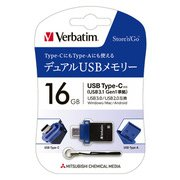 USBSTC16GBV1 [USBメモリ Type-C USB3.0対応 16GB Win/Mac対応]