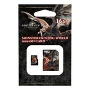 モンスターハンターデザイン micro SDHCカード 16GB CLASS10 SDアダプターセット モンスターハンターワールド柄 [キャラクターグッズ]