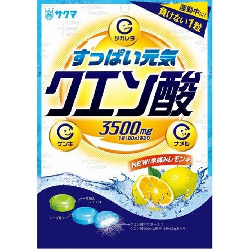 サクマ製菓 クエン酸キャンデー 80g