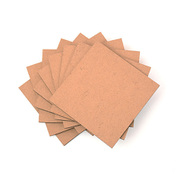 MDF Wood Sheet (10 Pieces) [中密度繊維板 10枚入り]