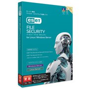 ESET File Security for Linux / Windows Server 更新 [パソコンソフト]
