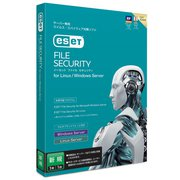 ESET File Security for Linux / Windows Server 新規 [パソコンソフト]