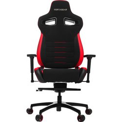 VG-PL4500-RD [Vertagear Racing Series P-Line PL4500 Coffee Fiber with Silver Gaming Chair Black&Red]