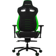 VG-PL4500-GR [Vertagear Racing Series P-Line PL4500 Coffee Fiber with Silver Gaming Chair Black&Green]