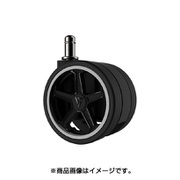 VG-CASRS1A-75WT [Vertagear Racing Series Opt Penta RS1 Casters 75mマット(5pack) AutoBrake White]
