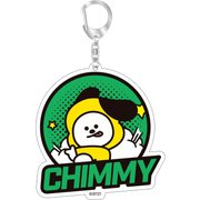 BT21 アクリルキーチェーン2 CHIMMY [キャラクターグッズ]