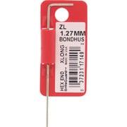 ZL1.27MM [ボンダス 六角L-レンチ エクストラロング 1.27mm]