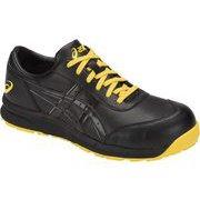 1271A003.00127.0 [アシックス 静電気帯電防止靴 ウィンジョブCP30E ユニセックス ブラック/ブラック 27.0cm]