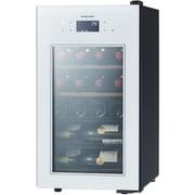 SA22-W [SAKURA WORKS 一温度管理式 低温冷蔵機能付 ワインセラー ZERO Advanceシリーズ 22本収納 扉:ホワイト ボディ:ブラック]