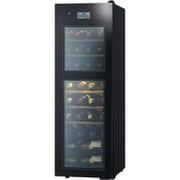 SA38-B [SAKURA WORKS 二温度管理式 低温冷蔵機能付 ワインセラー ZERO Advanceシリーズ 38本収納 扉:ブラック ボディ:ブラック]