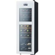 SA38-W [SAKURA WORKS 二温度管理式 低温冷蔵機能付 ワインセラー ZERO Advanceシリーズ 38本収納 扉:ホワイト ボディ:ブラック]