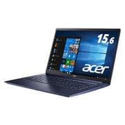 SF515-51T-H58Y/B [Swift 5/Core i5-8265U/8GB/512GB SSD/ドライブなし/15.6型FHD IPSタッチパネル/Windows 10 Home 64bit/チャコールブルー]