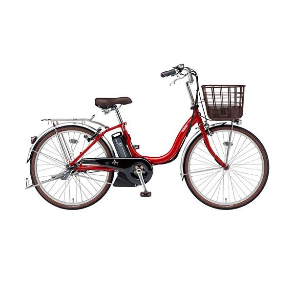 PA24SU [電動アシスト自転車 PAS SION-U(パス シオン ユー) 2019年モデル 24型 12.3Ah 内装3段変速 レッド]