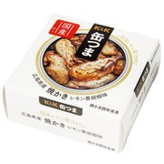 缶つま 広島県産 焼かきレモン黒胡椒味 70g
