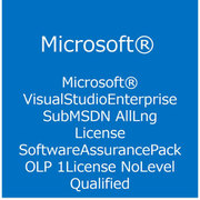 Visual Studio Enterprise Sub MSDN AllLng License/Software Assurance Pack [ライセンスソフト]