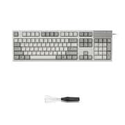 R2-US5-IV-KP [REALFORCE R2 フルキーボード 英語104キー配列 USB アイボリー 昇華印字 ALL55g ワイヤーキープラーセットモデル]