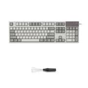 R2S-US5-IV-KP [REALFORCE R2 S フルキーボード  英語104配列 USB アイボリー 昇華印字 ALL55g 静音モデル ワイヤーキープラーセットモデル]