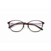 PG-708-VT [老眼鏡 PINTGLASSES(ピントグラス) +0.6~+2.5 バイオレット]