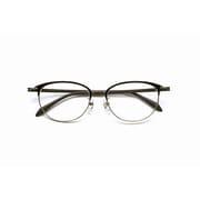 PG-709-BK [老眼鏡 PINTGLASSES(ピントグラス) +0.6~+2.5 ブラック/シルバー]