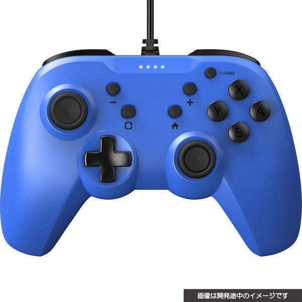 CY-NSGYCL-BL [SWITCH用 ジャイロコントローラーライト有線タイプ ブルー]